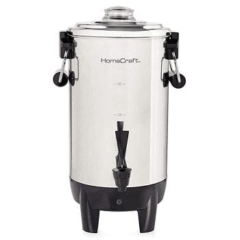 Nostalgia HomeCraft CU30SS Coffee Urn
