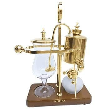 Nispira Belgian Luxury Siphon Coffee Maker