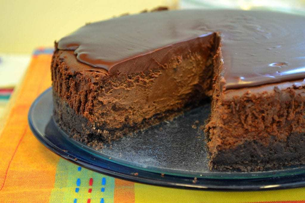 Triple Mocha Cheesecake