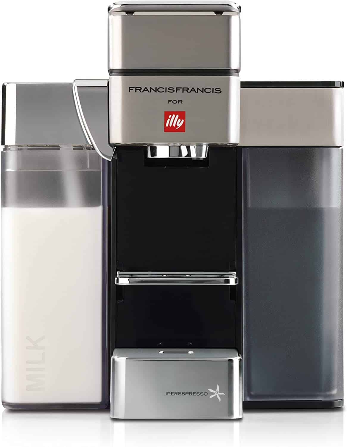 illy Y5 milk espresso coffee