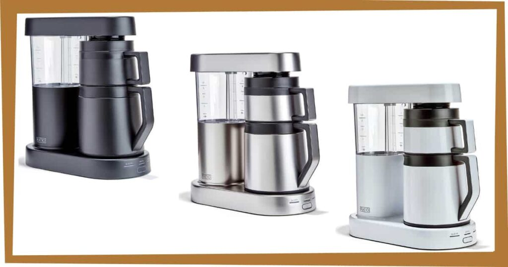 Ratio 6 different color coffee maker