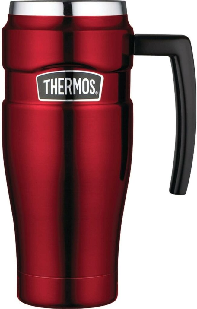 THERMOS Stainless Steel King Vacuum-Insulated Travel Mug