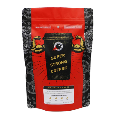maximum charge super strong coffee