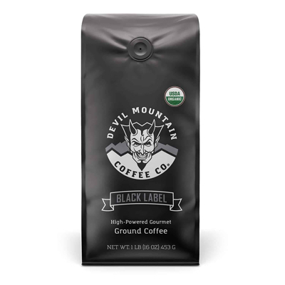 black label ultra strong coffee